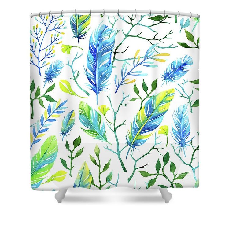 boho watercolor pattern shower curtain for sale by susan cooper - Fantastisch Bing Steam Shower