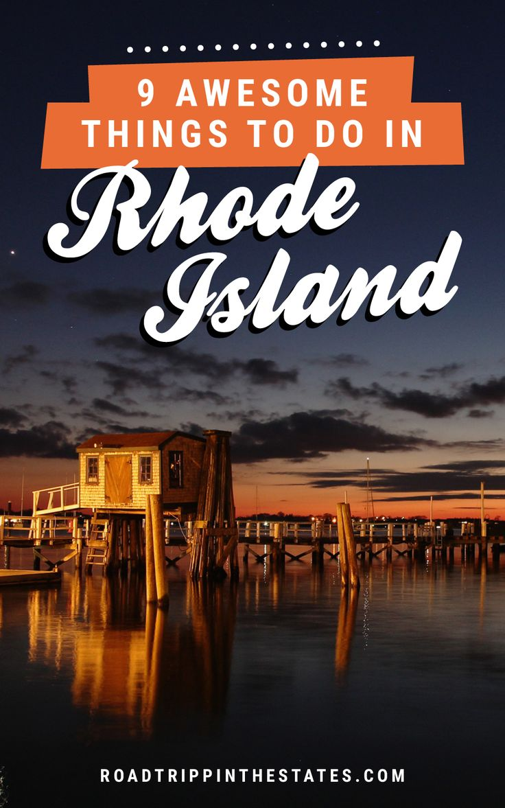9 awesome things to do in Rhode Island! Click through for our guide on Road Trippin' The States.