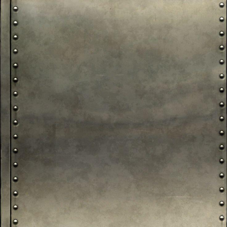 riveted metal panel