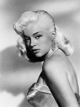 Today 1950s hair & makeup inspiration from Diana Dors