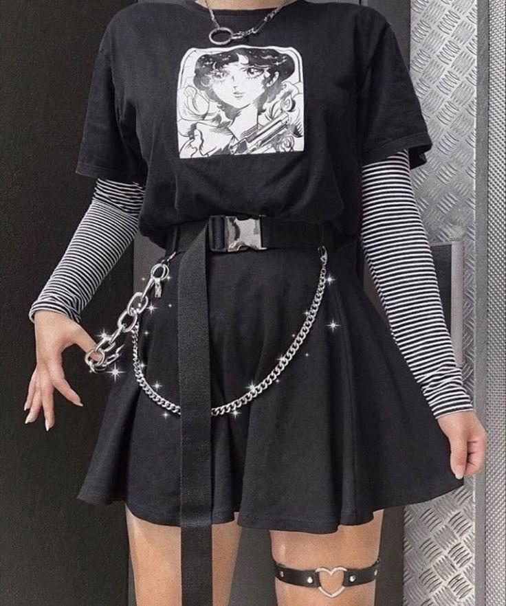 Egirl Fashion, Teen Fashion Outfits, Mode Outfits, Fashion Clothes, Grunge Fashion, Paris Fashion, Korean Fashion, Fasion, Fashion 2020