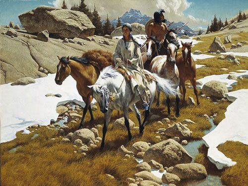 Todo lo creado antes ha sido pensado...: ARQUERÍA NATIVA AMERICANA... Historias de arcos y flechas (Segunda parte).