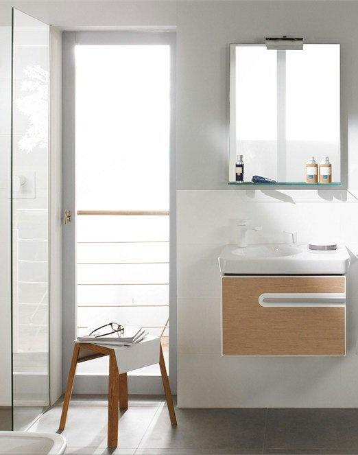 Bathroom furniture set JOYCE by Villeroy & Boch #bathroom #minimal @Villeroy & Boch