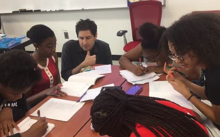 The Wake County school system is hosting a summer writing institute for students of color that includes having the teens meet with minority writers.