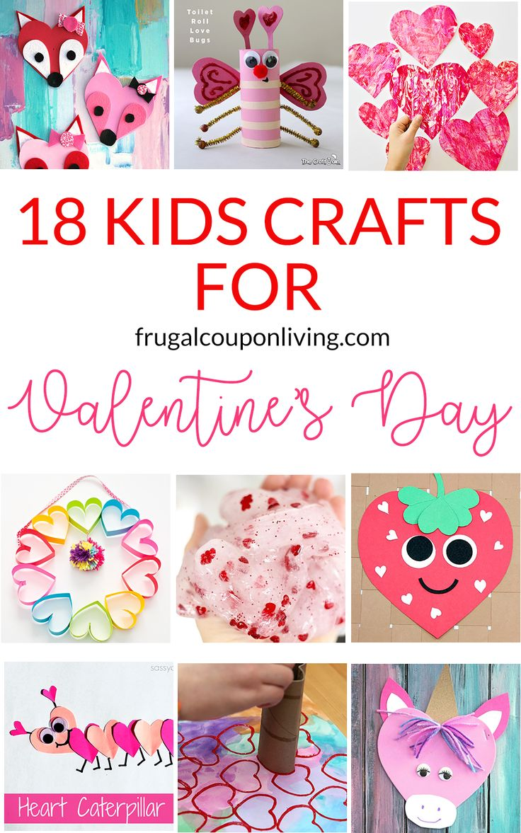 18 Super Cute DIY Valentine Crafts For Kids
