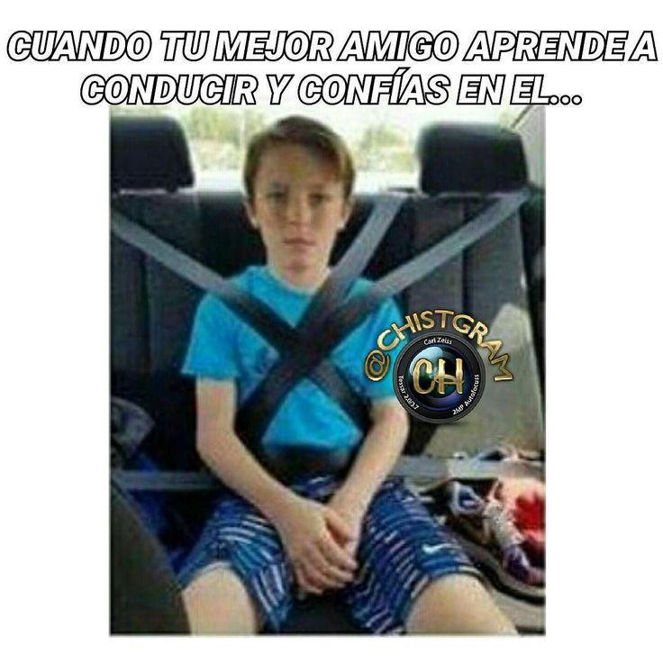 Yo confío en el...     #moriderisa #cama #colombia #libro #chistgram #humorlatino #humor #chistetipico #sonrisa #pizza #fun #humorcolombiano #gracioso #latino #jajaja #jaja #risa #tagsforlikesapp #me #smile #follow #chat #tbt #humortv #meme #chiste #conducir #amigos #estudiante #universidad