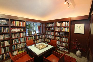 Small tight on space games room. Covert an office or library into a part time games room.