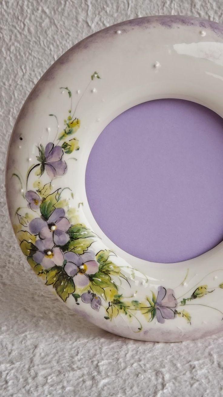 ceramica come mestiere: CORNICI PER FOTO