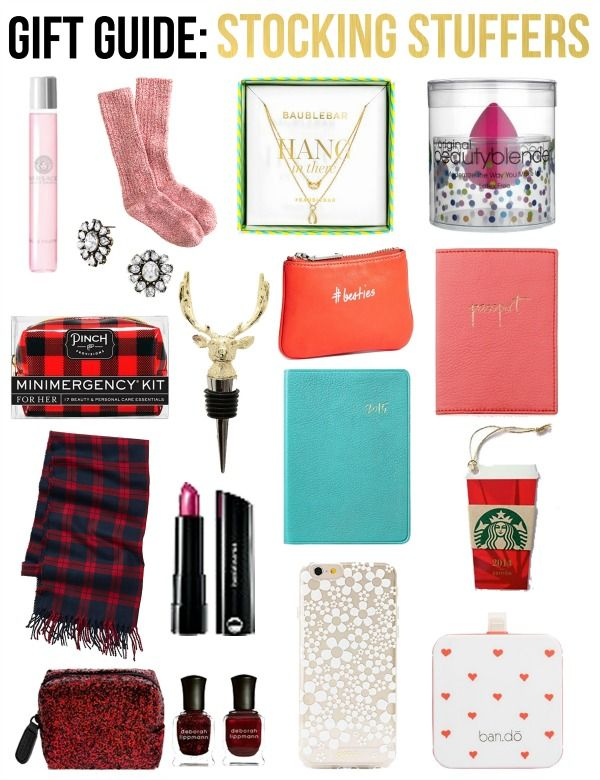 Life with Emily | a life + style blog : Gift Guide: Stocking Stuffers for Her
