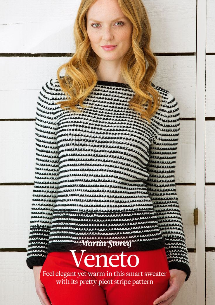 Martin Storey - Veneto introduced in 'The Knitter Magazine issue 76. Read more about it on my blog! http://knittingkonrad.com/2014/09/16/the-knitter-issue-76-a-review/