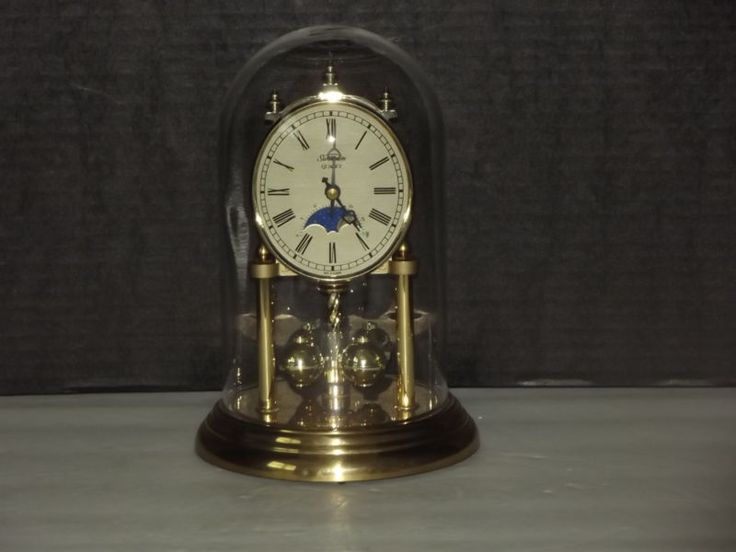 Sunbeam Quartz Moon Phase Armstrong Anniversary Clock Made in Germany