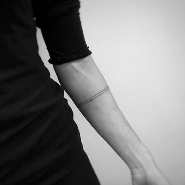 Minimalistic Armbands by Balazs Bercsenyi