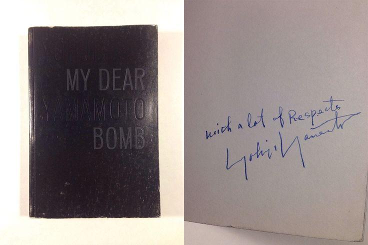 10,000 달러에 ebay 경매로 나온 요지 야마모토의 자서전 My Dear Bomb (Yohji Yamamoto 'My Dear Bomb' auction on ebay for 10000 dollar)   #weloveadidas #adidas #ebay #아디다스매니아 #아디다스 #요지야마모토 #adidasy3 #y3 #yohjiyamamoto #mydearbomb #이베이