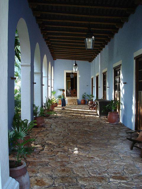 Hacienda Santa Rosa -- side hallway by coleman and caroline, via Flickr