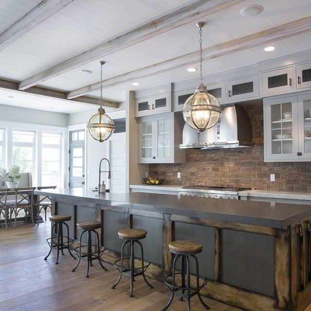 25 best ideas about industrial farmhouse on pinterest for Country farm kitchen ideas