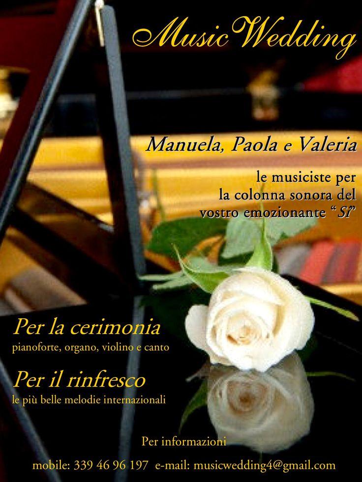 La musica migliore per le tue nozze! Info: musicwedding4@gmail.com