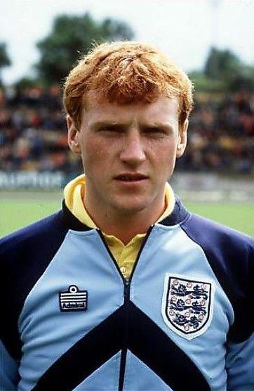 Gary Westwood England U-18 1981