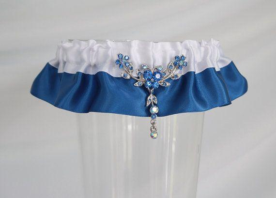Jarretière bleue royale
