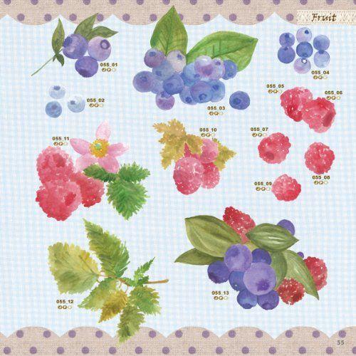 デザインパーツ素材集 かわいい花&フルーツ (ijデジタルBOOK):Amazon.co.jp:本