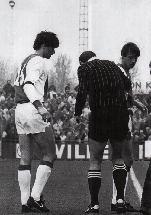 Marco Van Basten's first match with Ajax (April 82)