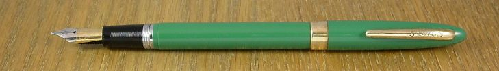 Sheaffer Saratoga TM Snorkel (because an easy name is boring), c. 1953-'59