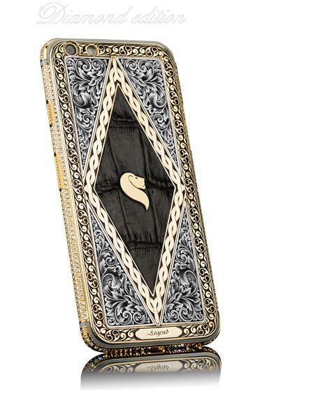Золотой айфон 6S 24 карата