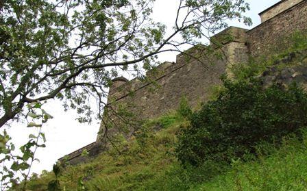 A different view of Edinburgh Castle