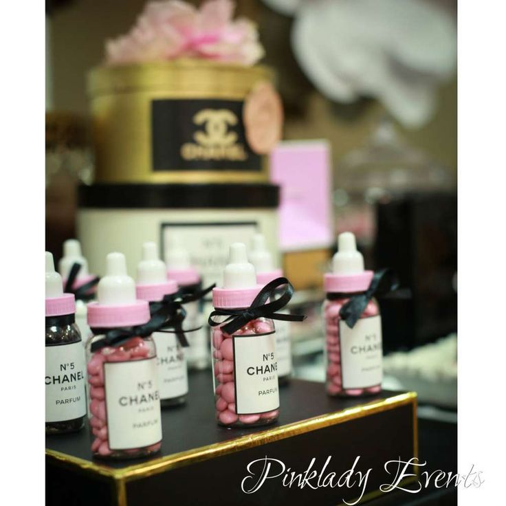 Coco Chanel  Baby Shower Party Ideas | Photo 2 of 35