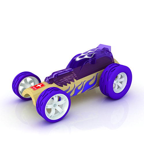 Little Hot Rod From Hape from The Wooden Toybox