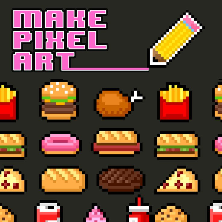 Now available for iPad, Mac and PC. The original pixel art drawing app! Share your drawings online instantly.