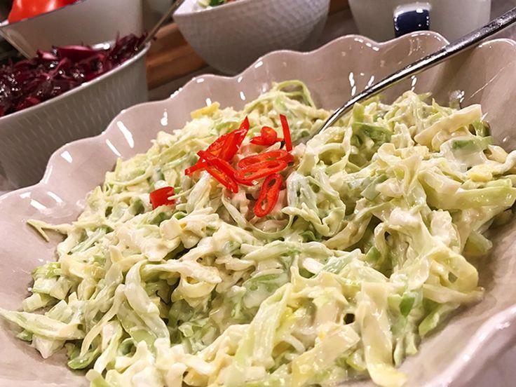 Snabb och enkel coleslaw | Recept från Köket.se