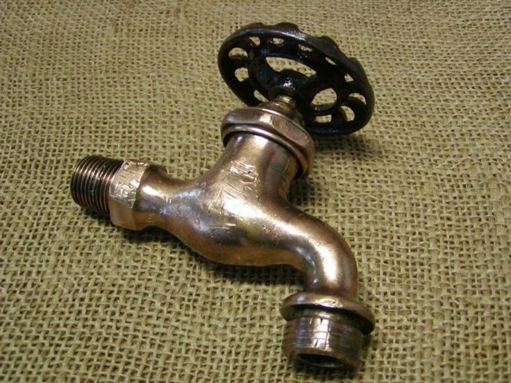 Vintage hose spigot