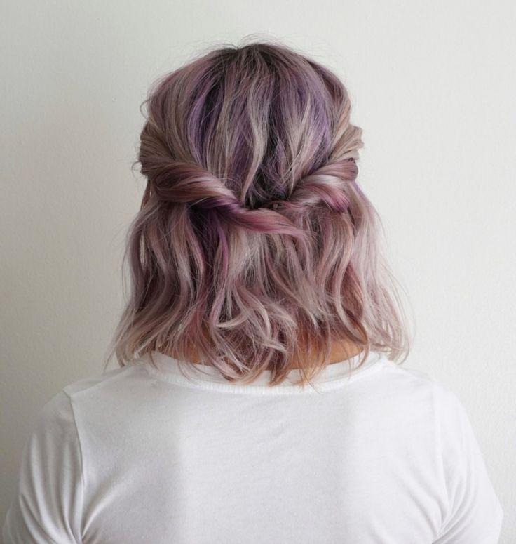 awesome 5 Möglichkeiten, schulterlanges Haar tragen