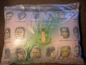 AKA founders pillow