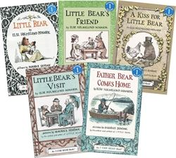 The Little Bear Book Collection by Else Homelund Minerik and illustrator, Maurice Sendack, is wonderful. My very favorite story is in the first book, Little Bear, titled Little Bear Goes to the Moon.