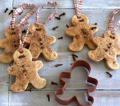 Gingerbread Salt Dough Ornaments (No More Ugly Ornaments Series)