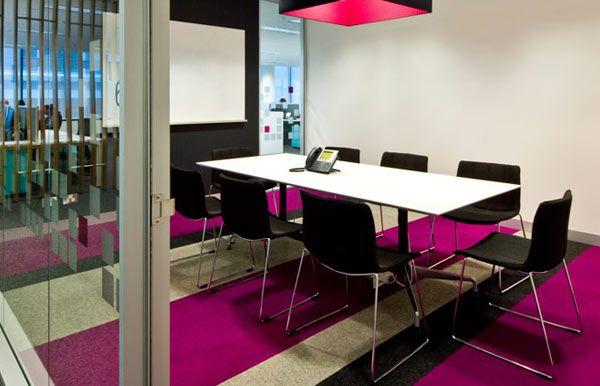 Office inspiration, pink, magenta, silver birch , charcoal, design, interior design , tretford carpet