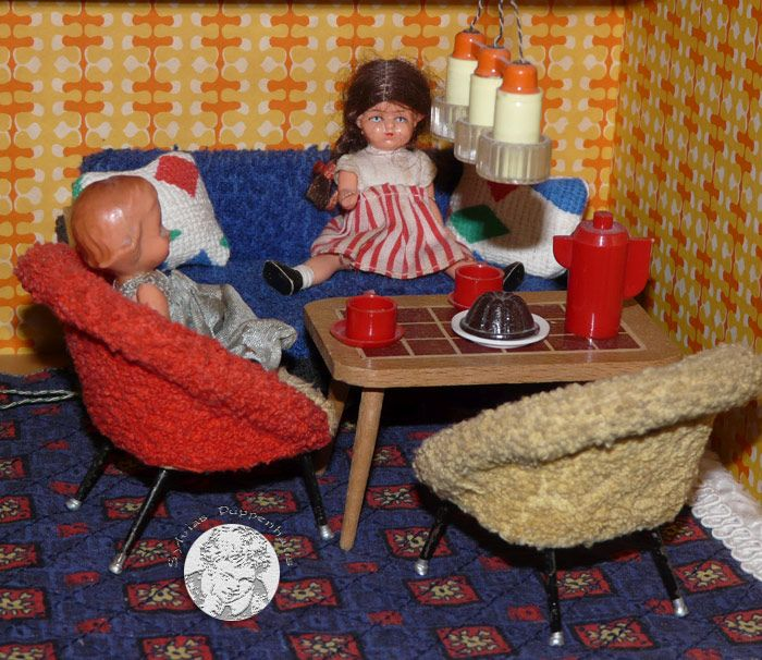 Die Hübsche Puppenstube Von VERO (VEB VERO Olbernhau, Spielwaren  Olbernhau/Erzgebirge   1966