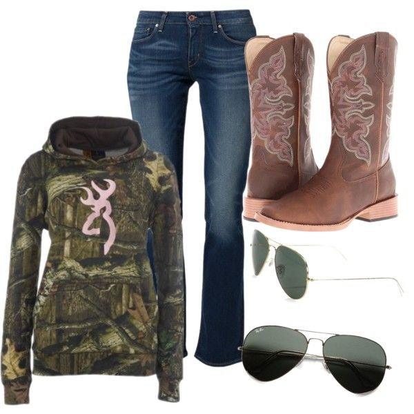 """mossy oak"" by nichole08-1 on Polyvore"