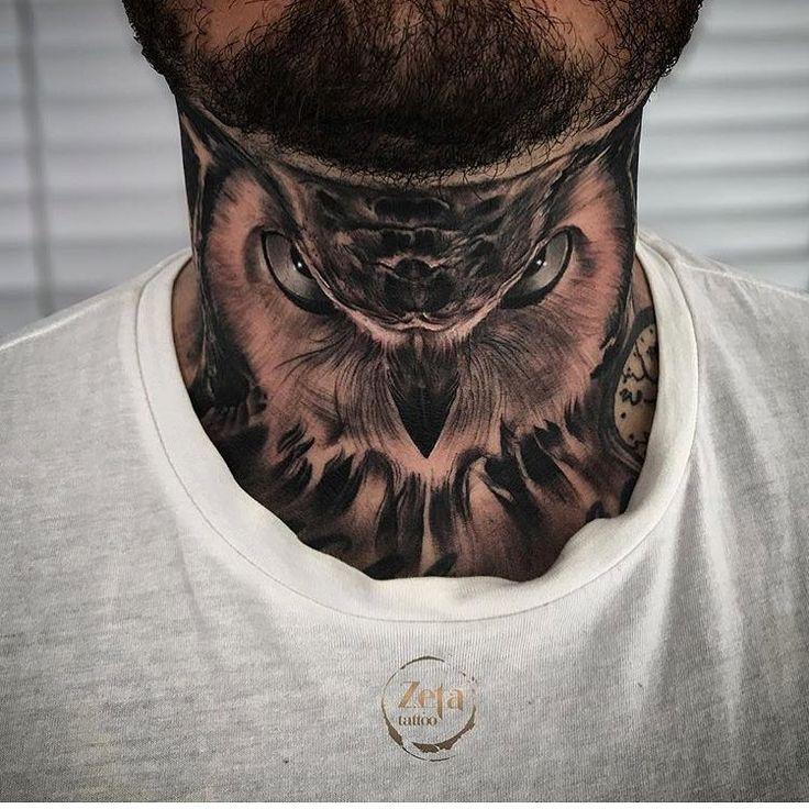 Tattoo Am Hals