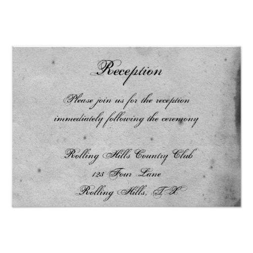 614 best gothic wedding invitations images on pinterest gothic elegant gothic bat lace posh wedding reception card stopboris Images