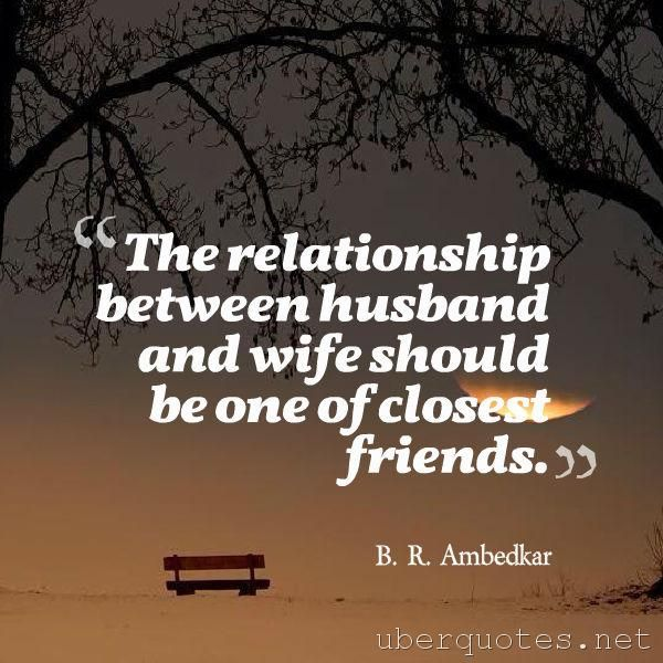 ideal relationship between husband and wife