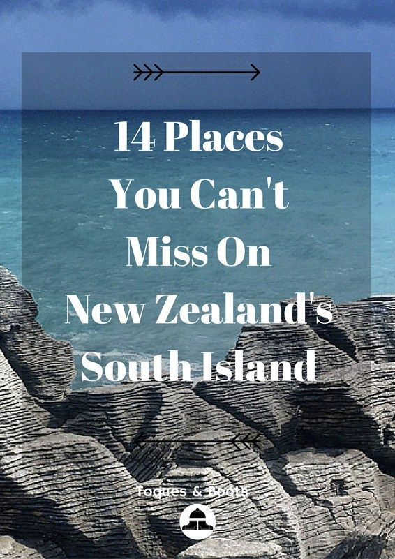 There are lots of things to see on New Zealand's South Island but here's 14 Places You Can't Miss on New Zealand's South Island and don't want to miss.