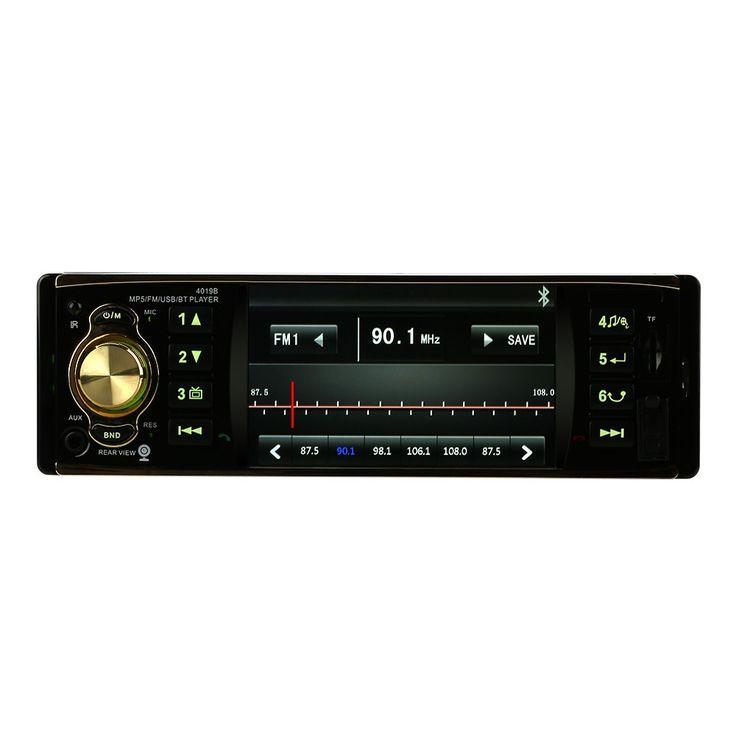 4.1 inch Universal TFT HD 1080P Bluetooth Car Radio MP5 black - Tomtop.com