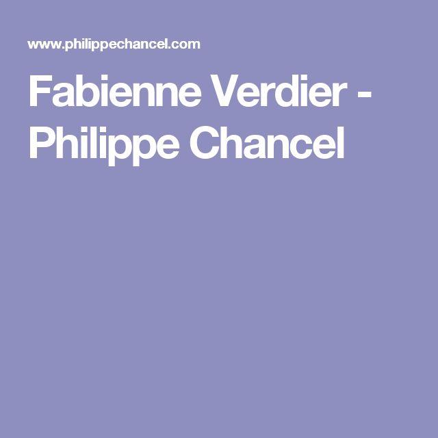 Fabienne Verdier - Philippe Chancel