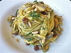 Di pasta impasta: Spaghetti con le alici alla siciliana
