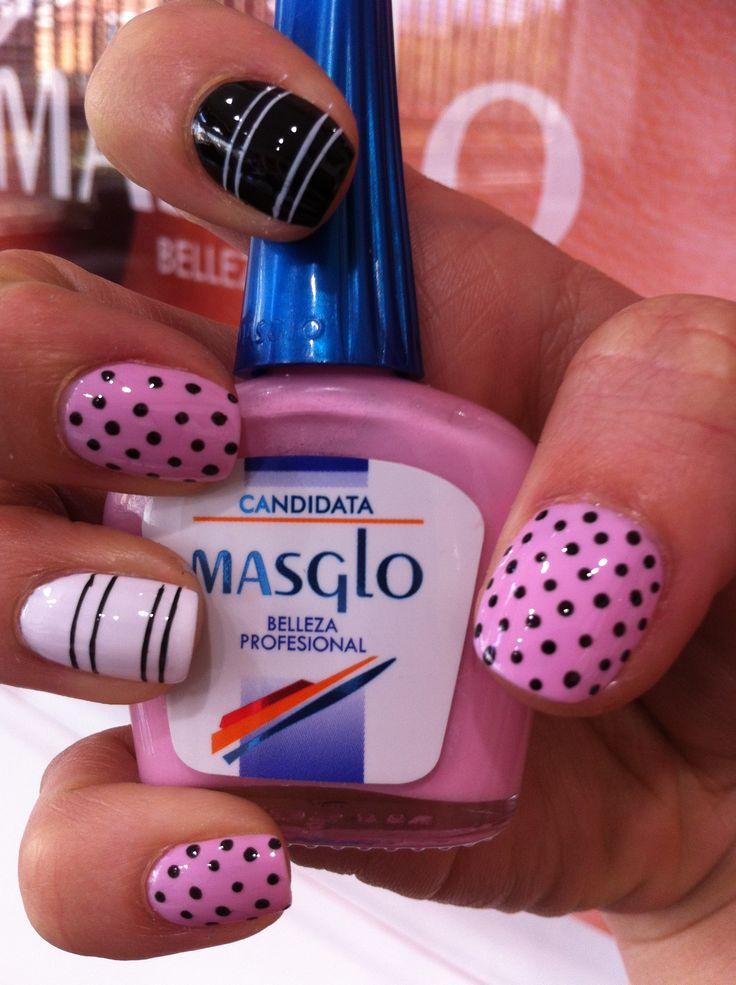 Candidata con Masglo. Masglo Nails