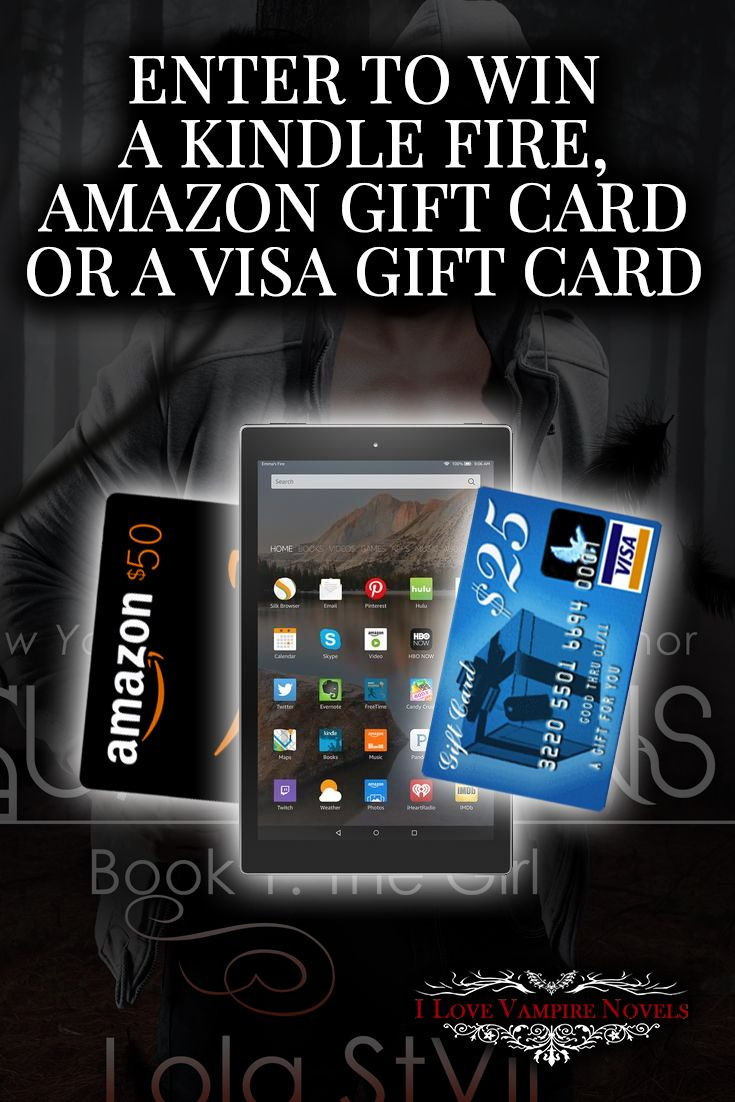 Win a Kindle Fire HD 7, a $50 Amazon Gift Card or a $25 Visa Gift Card from NY Times & USA Today Bestselling Author Lola StVil