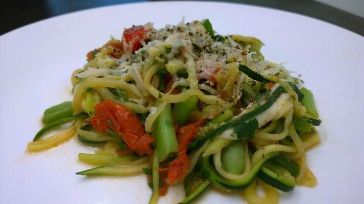Zucchini, Green Onion, Garlic, Italian Parsley, Marzano Tomatoes ...