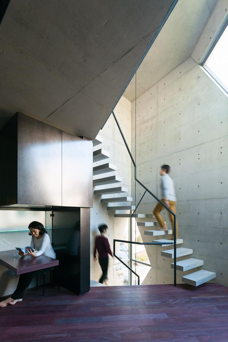 Japanese Firm Atelier Tekuto Designed This House In Central Tokyo For A  Couple Of Chemists By